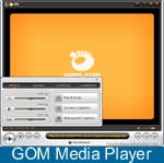 Janela do GOM Media Player