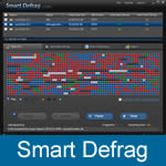 Menu do Smart Defrag