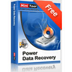 Caixa Minitool Power Data Recovery