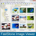 Menu do FastStone Image Viewer